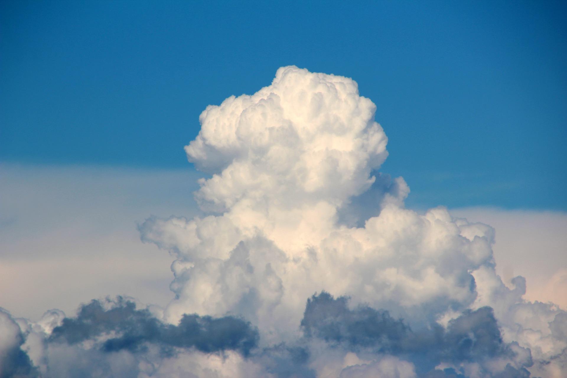 プードルみたいな雲